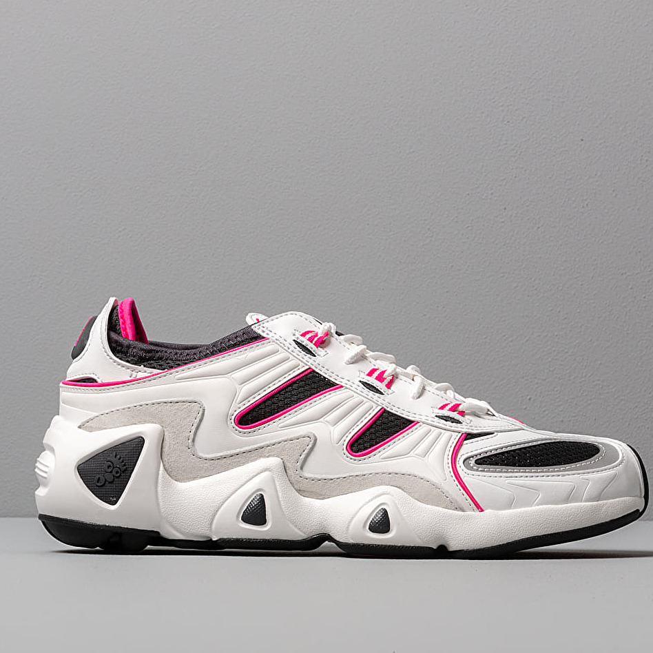 adidas FYW S-97 Crystal White/ Crystal White/ Shock Pink