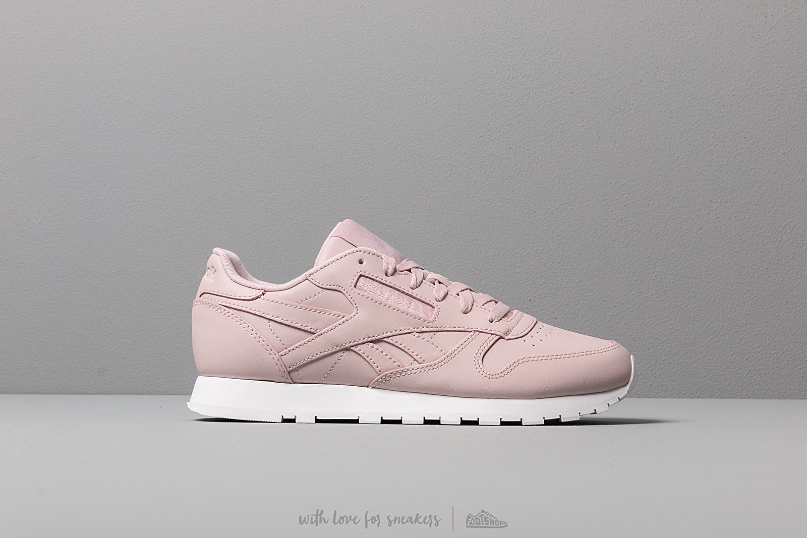 Reebok Classic Leather Ashen Lilac White, Pink footshop