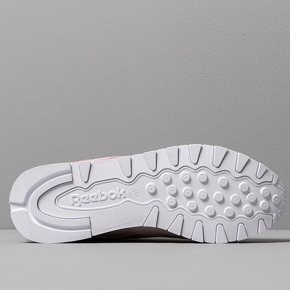 Reebok Classic Leather Ashen Lilac/ White, Pink