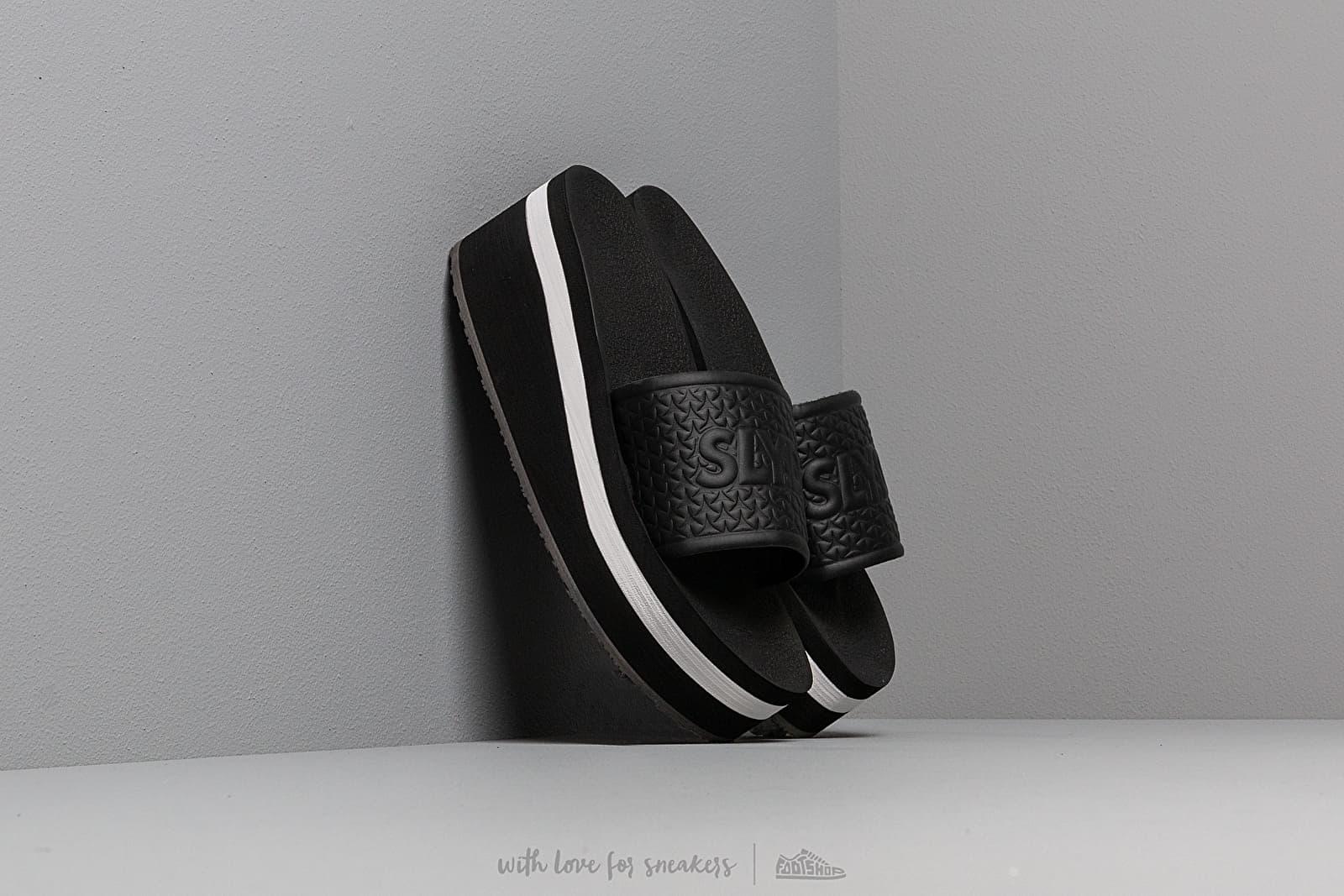 Women's shoes Slydes Racer Sliders Black/ White