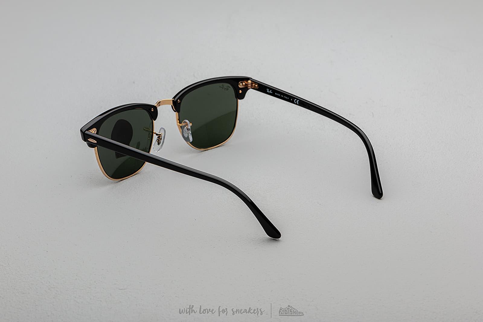 73e4d45b28 Ray Ban Clubmaster Sunglasses Black a muy buen precio 140 € comprar en  Footshop