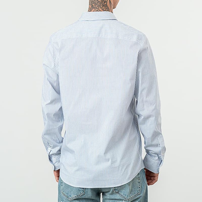A.P.C. Barthelemy Shirt Blanc, Blue
