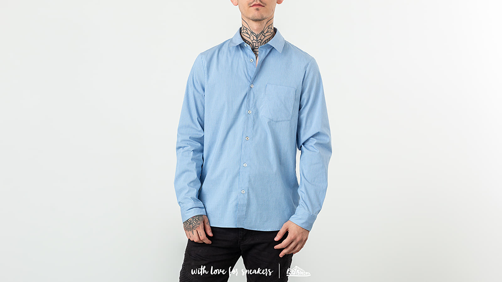 Chemises A.P.C. Barthelemy Shirt Blue