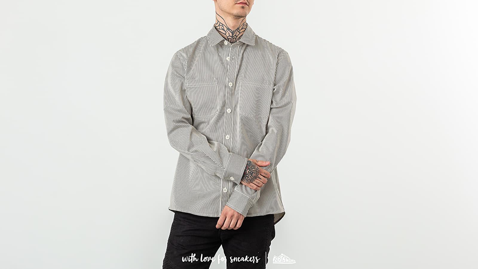 Košile A. P. C. Surchemise David Shirt Grey