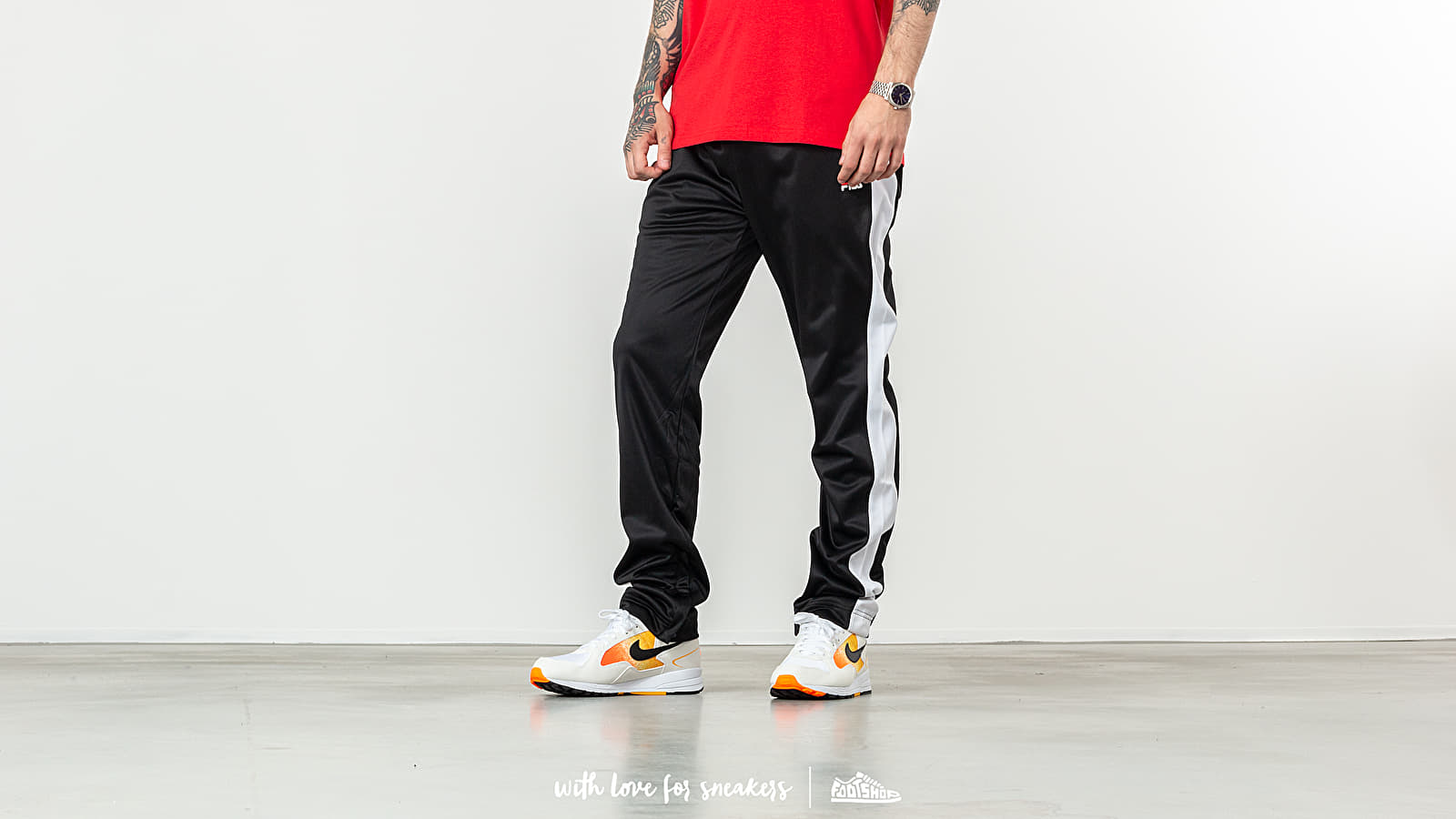FILA Bela Track Pants Black/ Bright White at a great price 62 € buy at Footshop