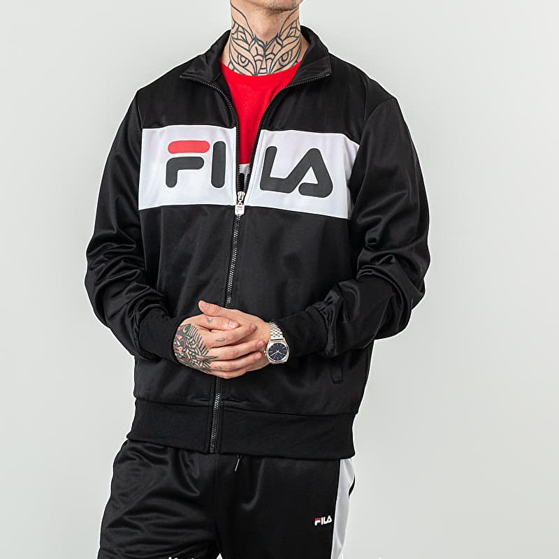FILA Balin Track Jacket Black/ Bright White