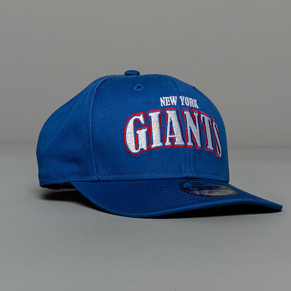 New Era 9Fifty NFL Curved New York Giants Snapback Blue S-M