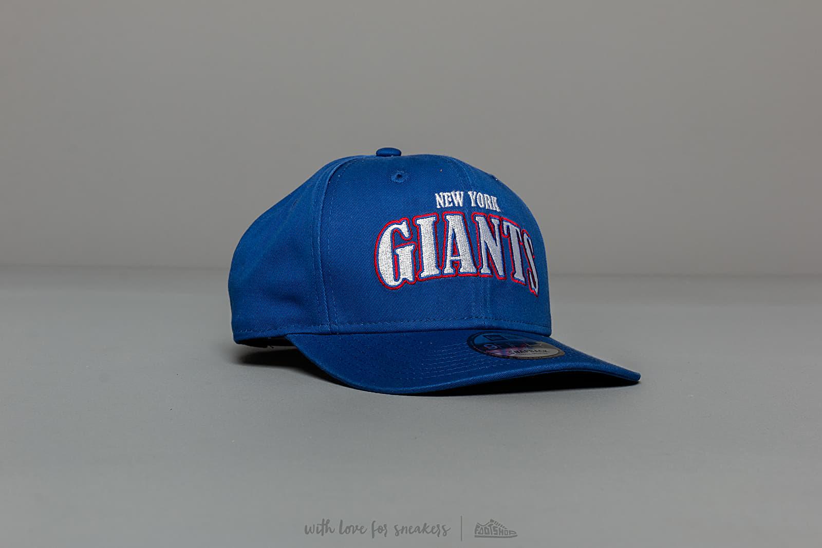 New Era 9Fifty NFL Curved New York Giants Snapback