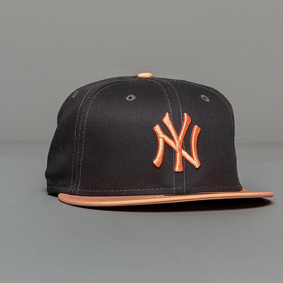 New Era 9Fifty NFL Pre Curved New York Yankees Cap Grey/ Peach M-L