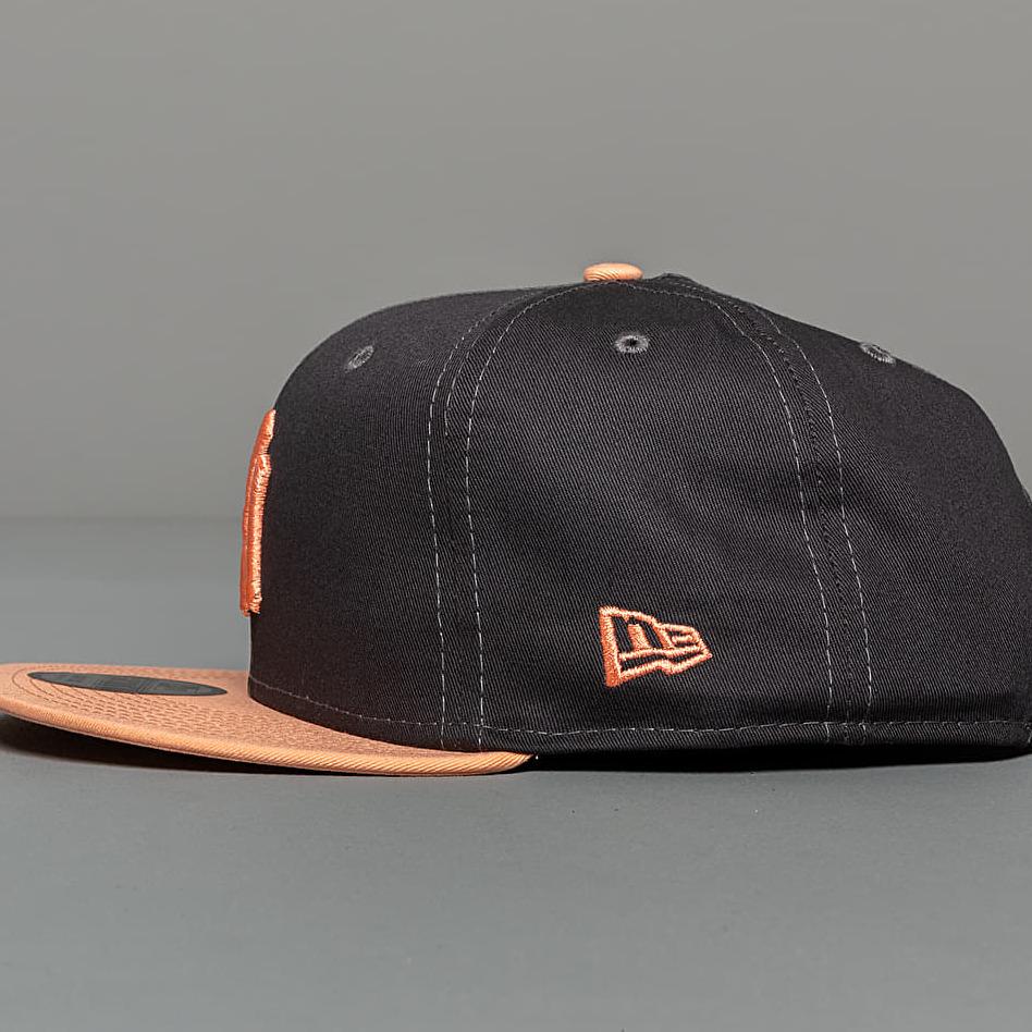 New Era 9Fifty NFL Pre Curved New York Yankees Cap Grey/ Peach, Gray