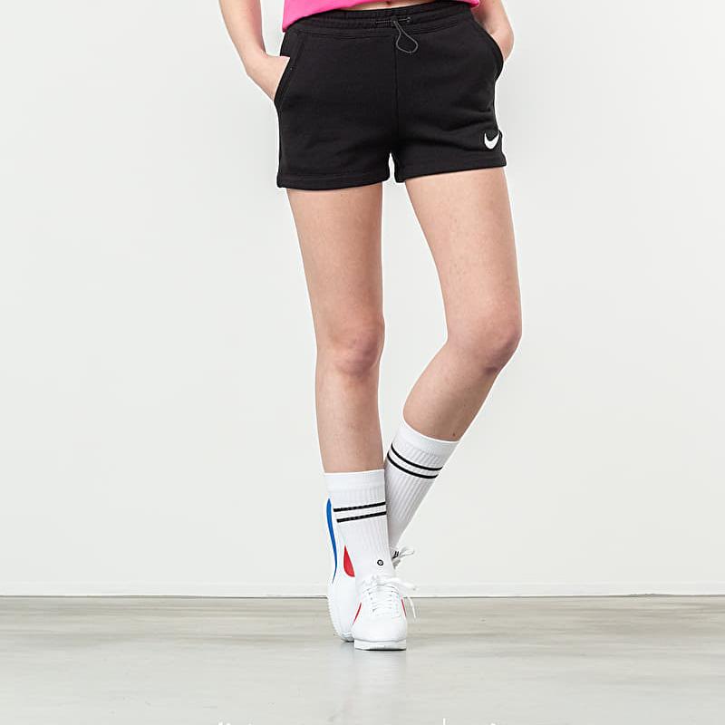 Nike Sportswear Swoosh Short Black/ White