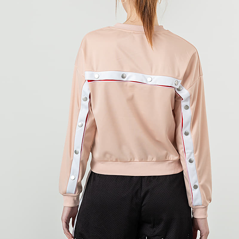 FILA Justyna Buttoned Crewneck Cameo Rose, Pink