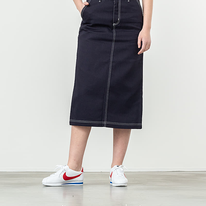 Carhartt WIP Pierce Skirt Dark Navy Rigid