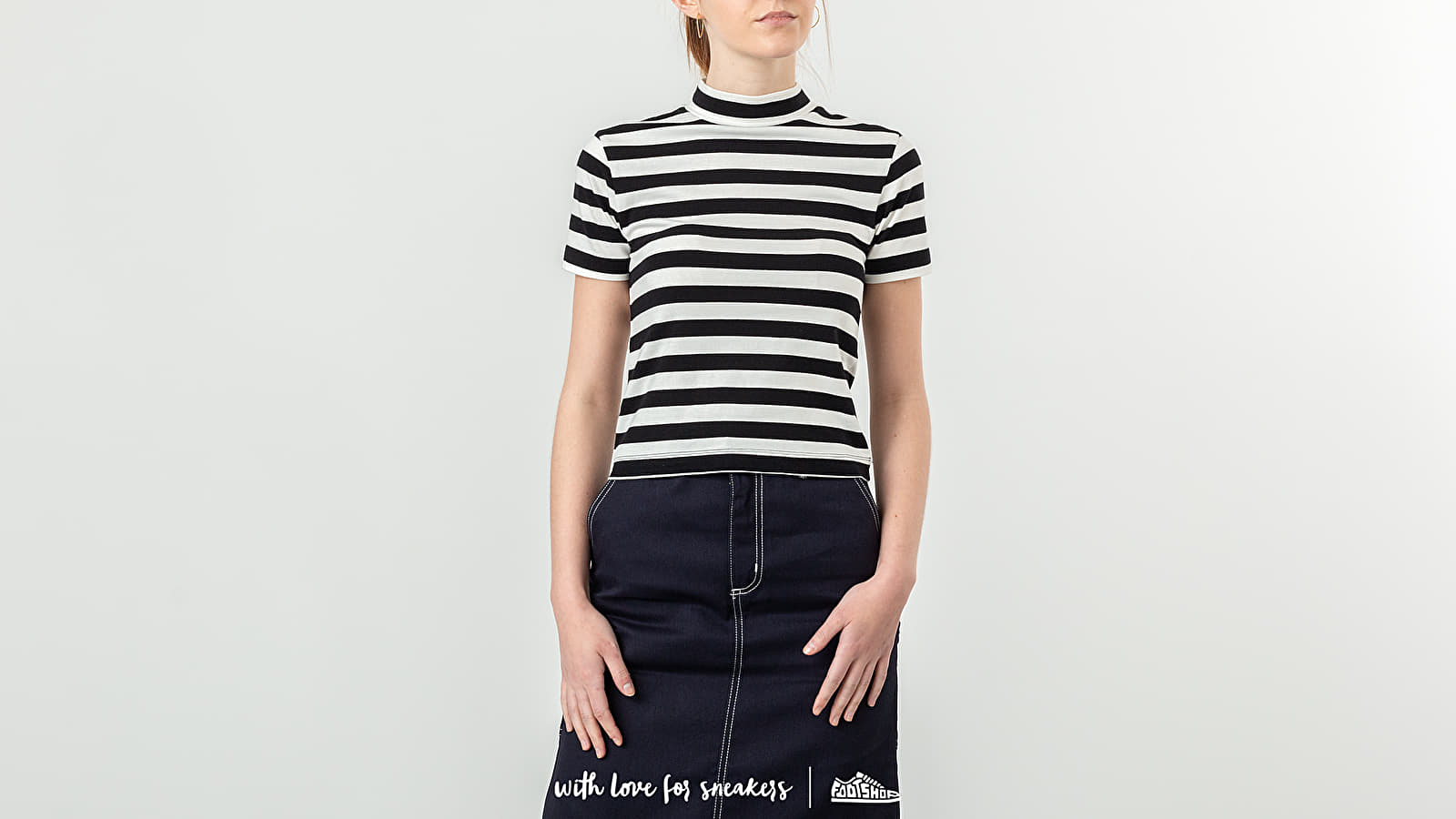 Majice T-shirt Lazy OAF Big Fitted Tee Stripe