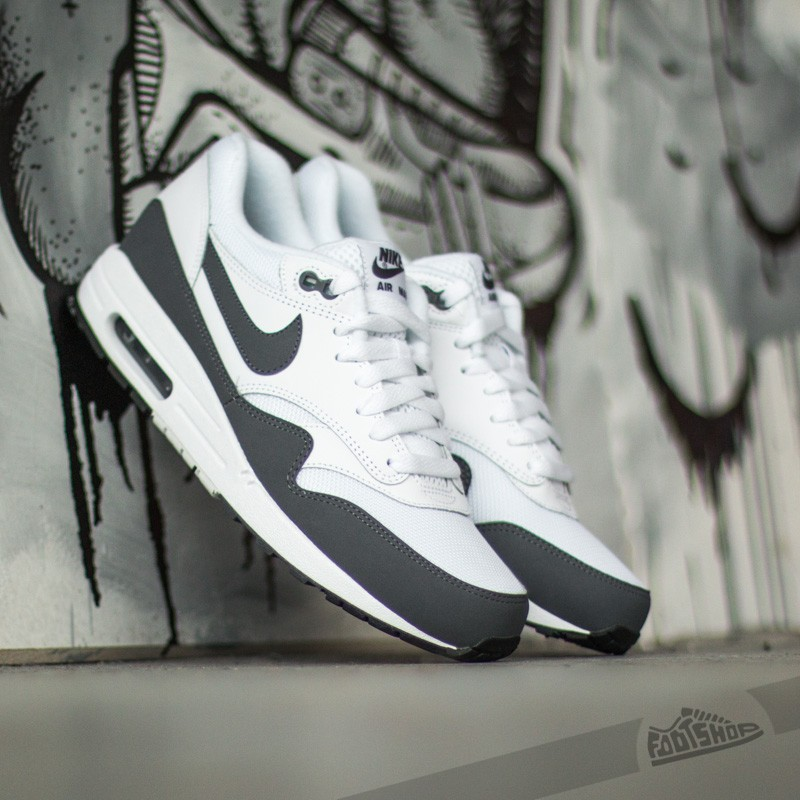 official photos ee517 28fe8 Nike Air Max 1 Essential White Dark Grey