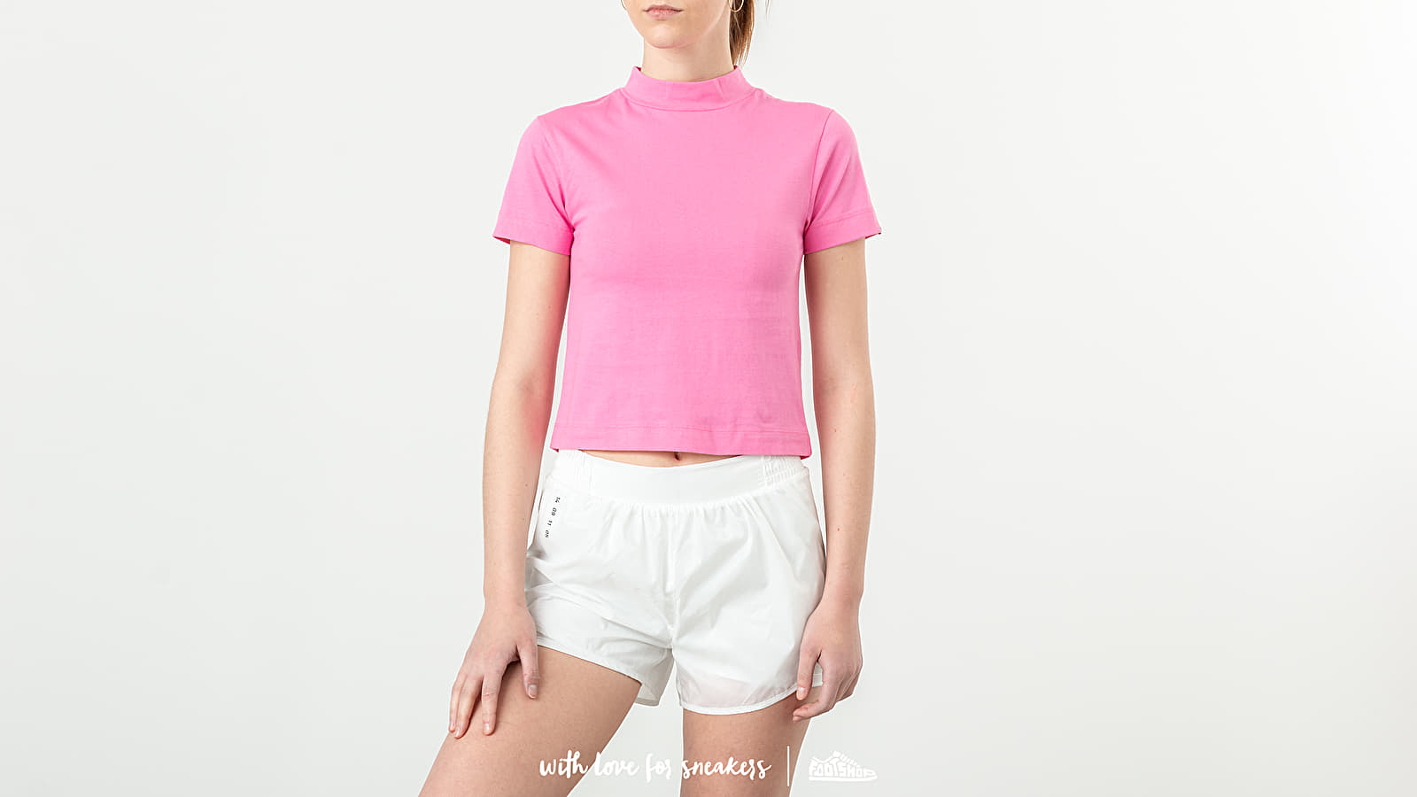 T-shirts Lazy OAF Fitted Tee Pink