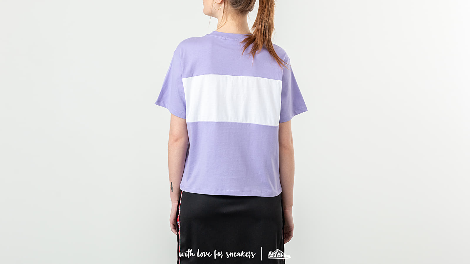 498c1862e91e FILA Allison Tee Violet Tulip  Bright White at a great price  41 buy at  Footshop