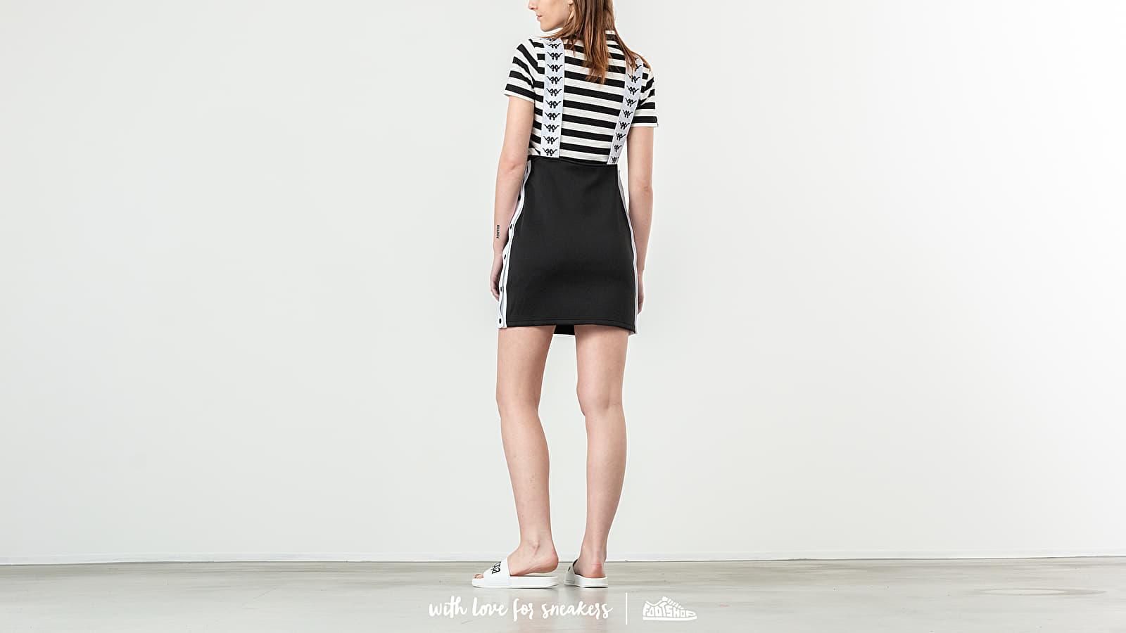 Dress Banda Black Bondera Kappa WhiteFootshop jR5A4L