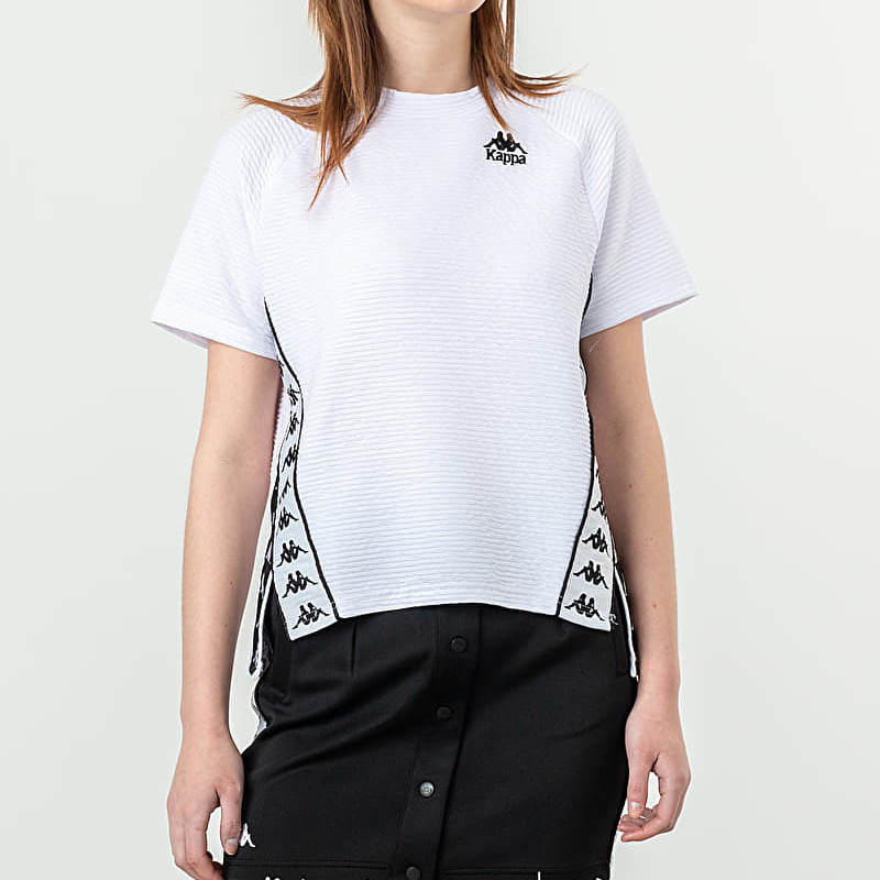 Kappa Banda Balta Tee White Black