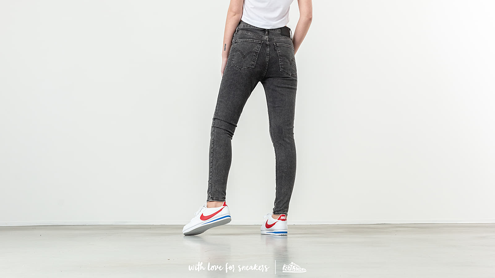 5fa0f9865 Levis® Mile High Super Skinny Jeans Grey at a great price 103 € buy at