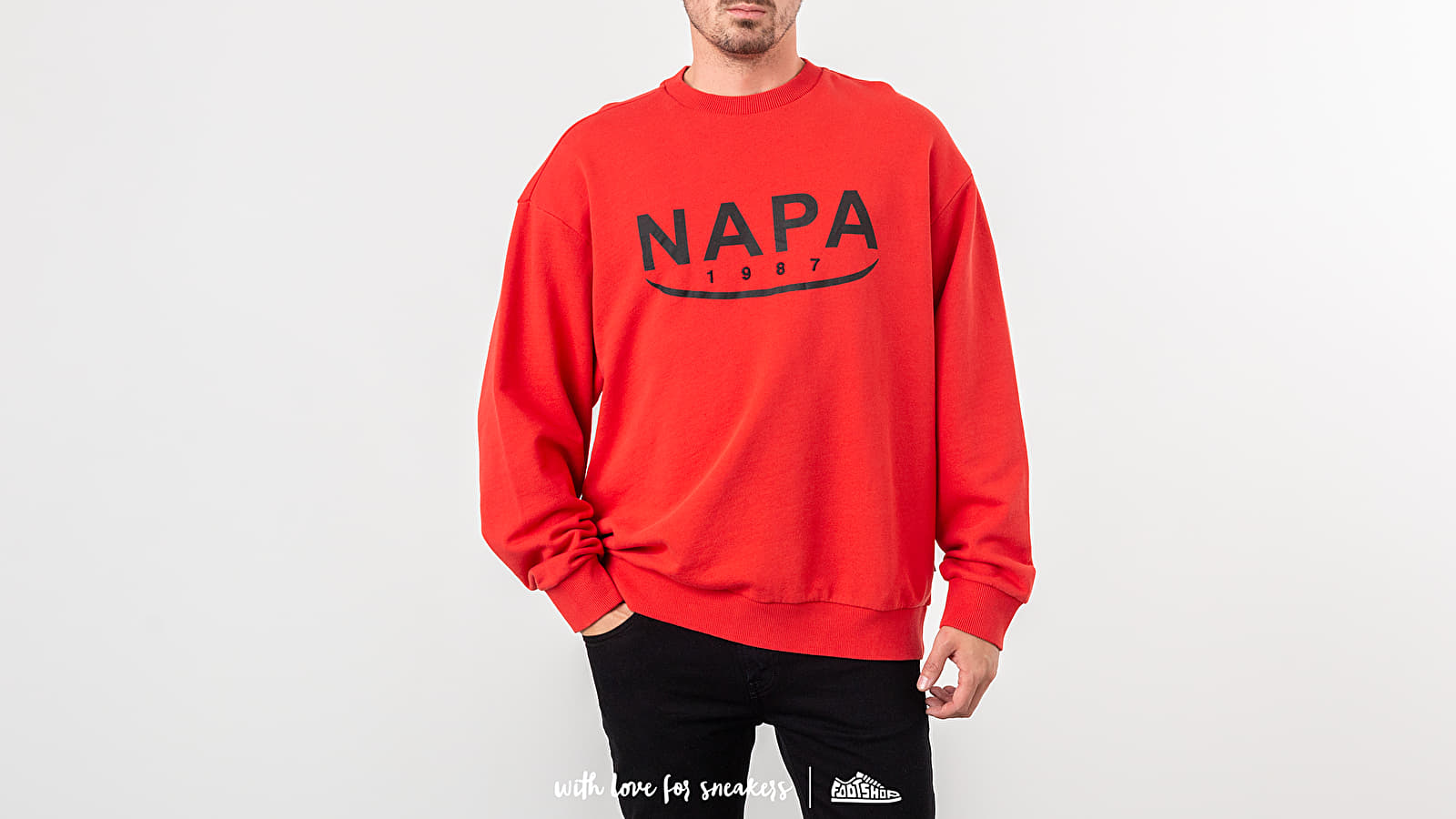 NAPA by Napapijri B-Arosa Crewneck Red W super cenie 735 zł kupuj na Footshop.pl