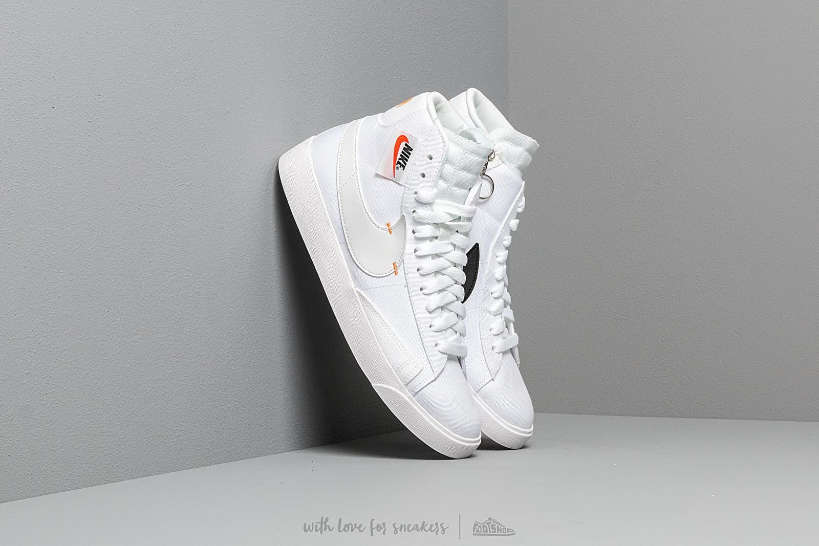 Nike W Blazer Mid Rebel White/ Platinum Tint-Summit White | Footshop
