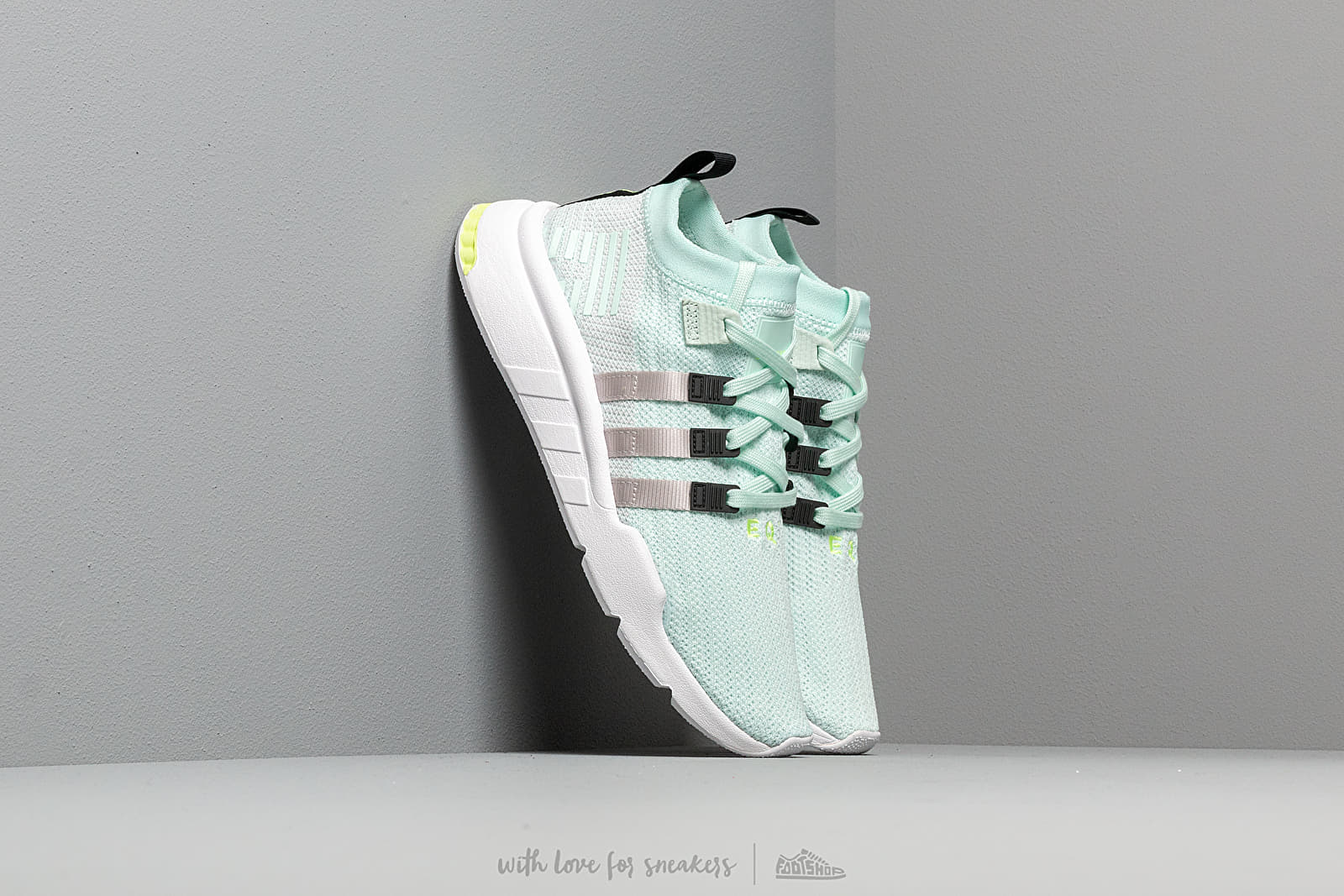 adidas EQT Support Mid Adv Primeknit Ice Mint/ Grey Two/ Core Black at a great price 114 € buy at Footshop