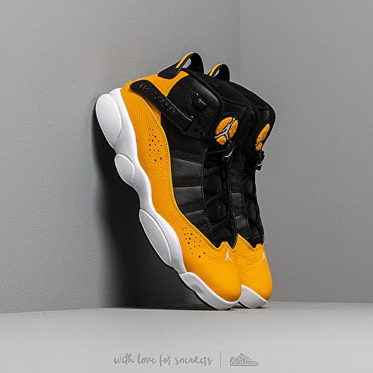 the latest fb5ee ae5c7 Jordan 6 Rings University Gold/ White-Black | Footshop