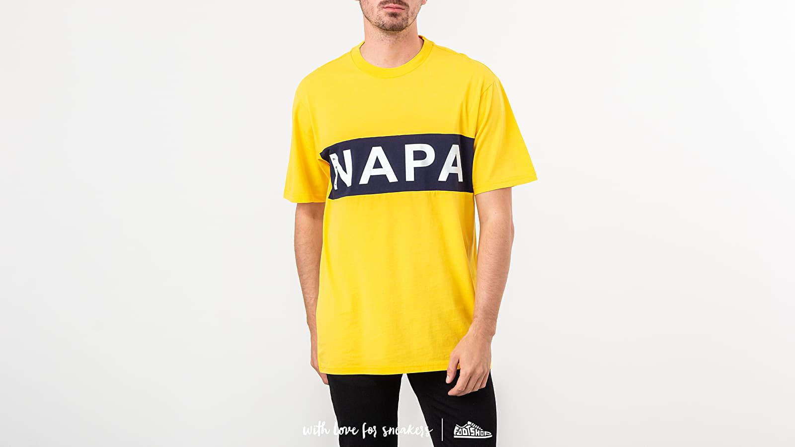 Trička NAPA by Napapijri S-Vars Tee Yellow