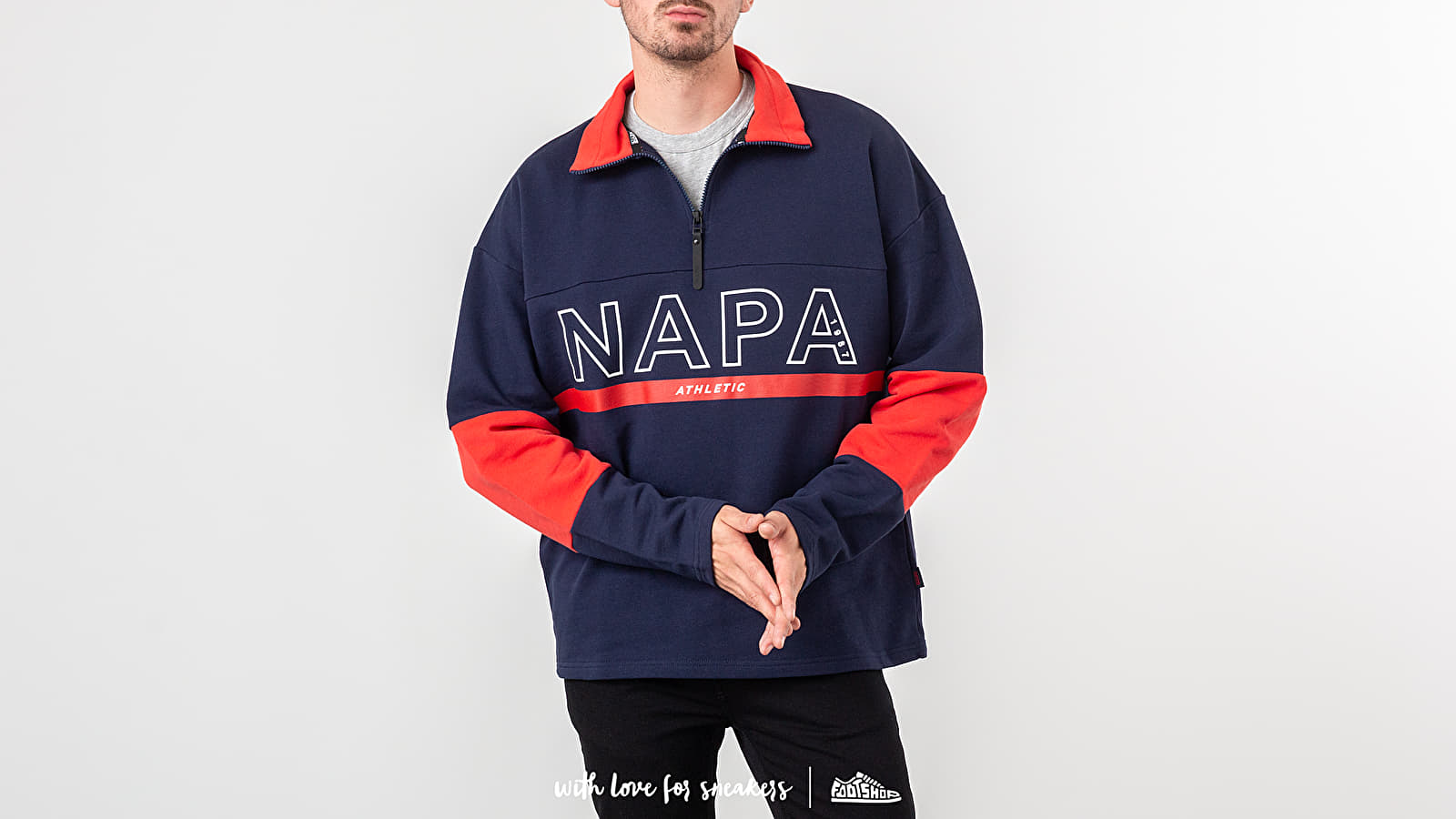 Hoodies and sweatshirts NAPA by Napapijri B-Anzere Half Zip Crewneck Multicolor