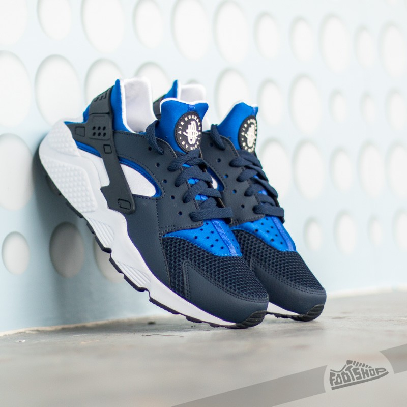 4ae66a246baa Nike Air Huarache Midnight Navy  Lyon Blue