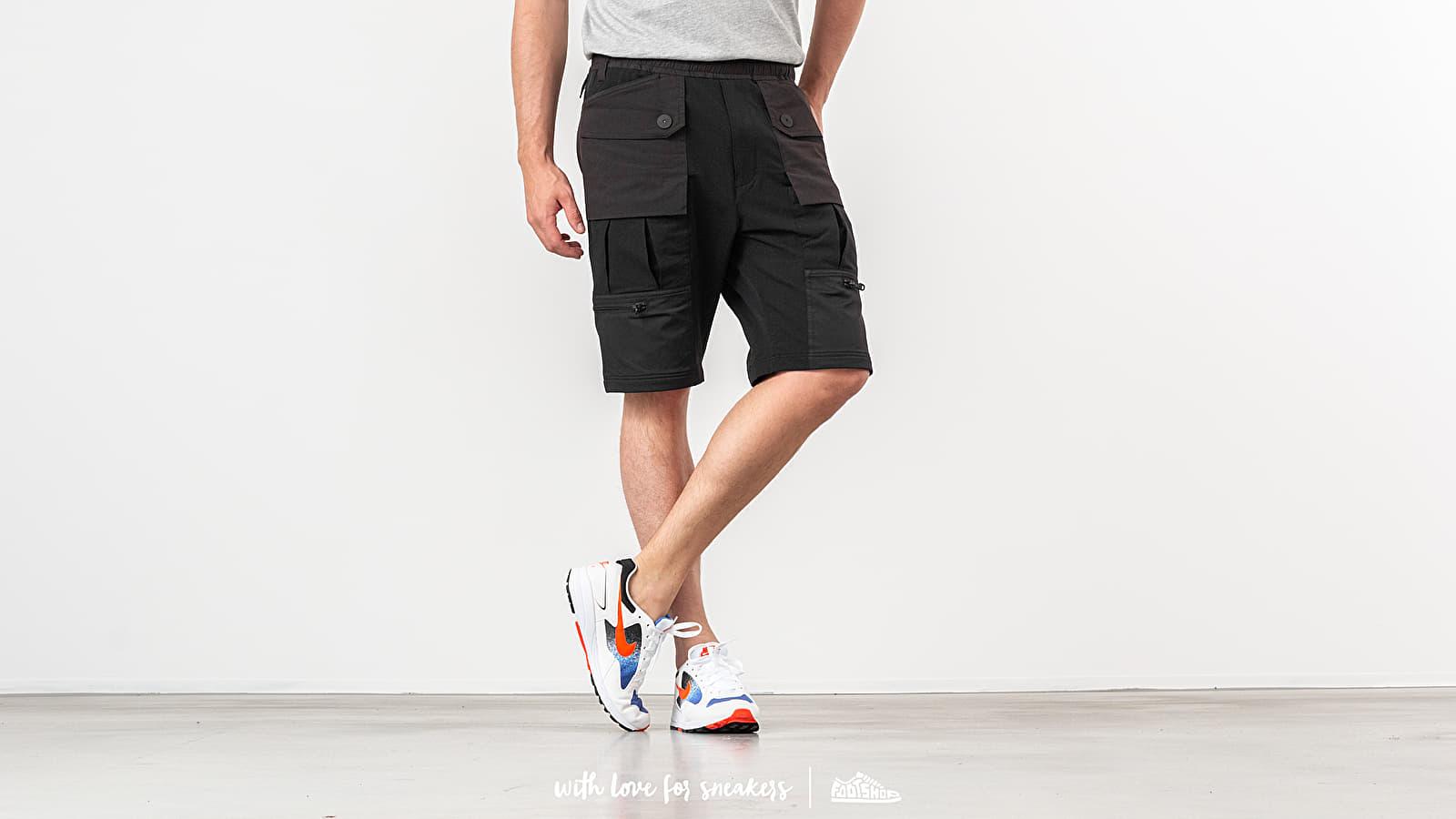 White Mountaineering Contrasted Easy Short Pants Black za skvelú cenu 377 € kúpite na Footshop.sk