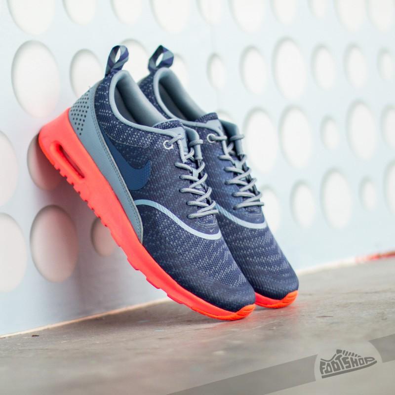 sale retailer 18192 874c9 Nike W Air Max Thea KJCRD Cool Blue Blue Legend-Hot Lava