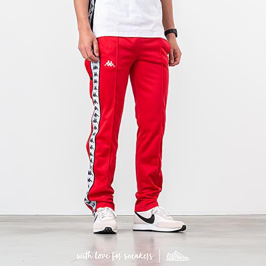 3ada9988 Kappa Banda Wastoria Slim Pants Red/ Black/ White | Footshop