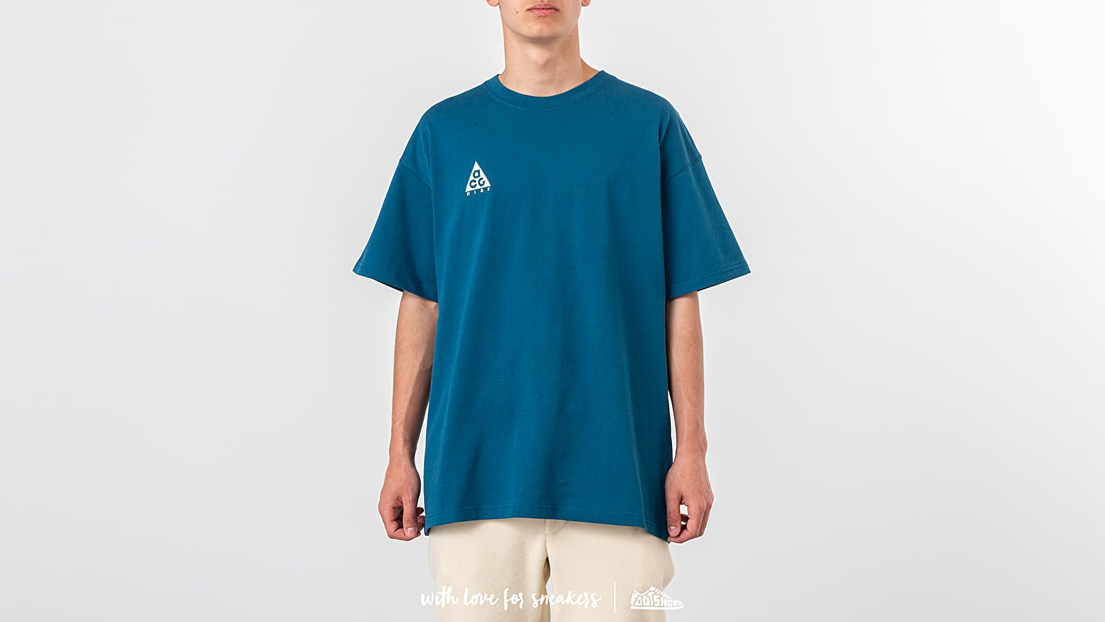 eece44d0161af4 Nike NRG ACG Tee Logo Blue Force  Barely Volt at a great price 33 €