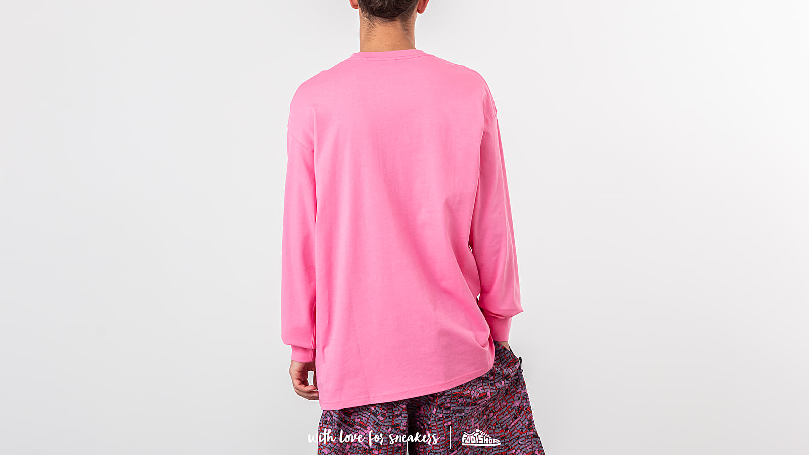 2dbcdcff Nike NRG ACG Longsleeve Logo Tee Lotus Pink/ Black at a great price $43 buy