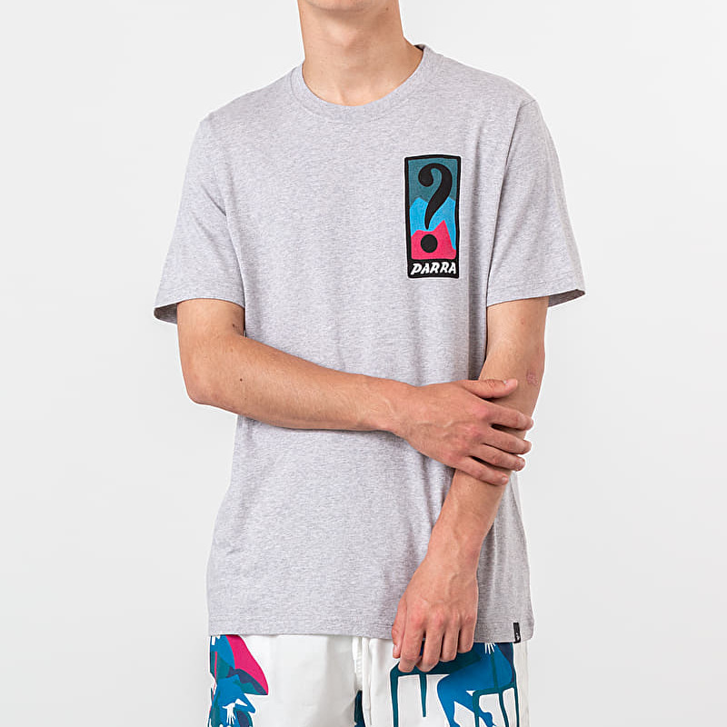 by Parra Indy Tuck Knee Tee Grey, Gray
