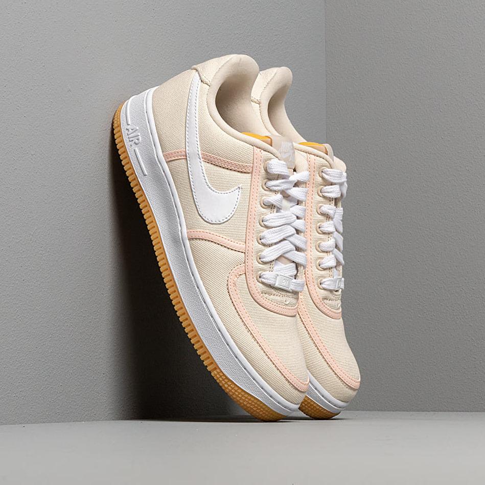 Nike Air Force 1 '07 Premium Light Cream/ White-Crimson Tint EUR 42.5