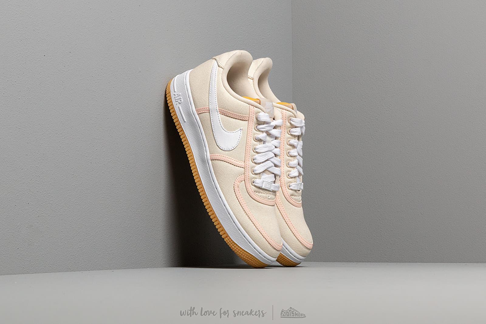 Nike Air Force 1 '07 Premium Light Cream/ White-Crimson Tint za skvelú cenu 110 € kúpite na Footshop.sk