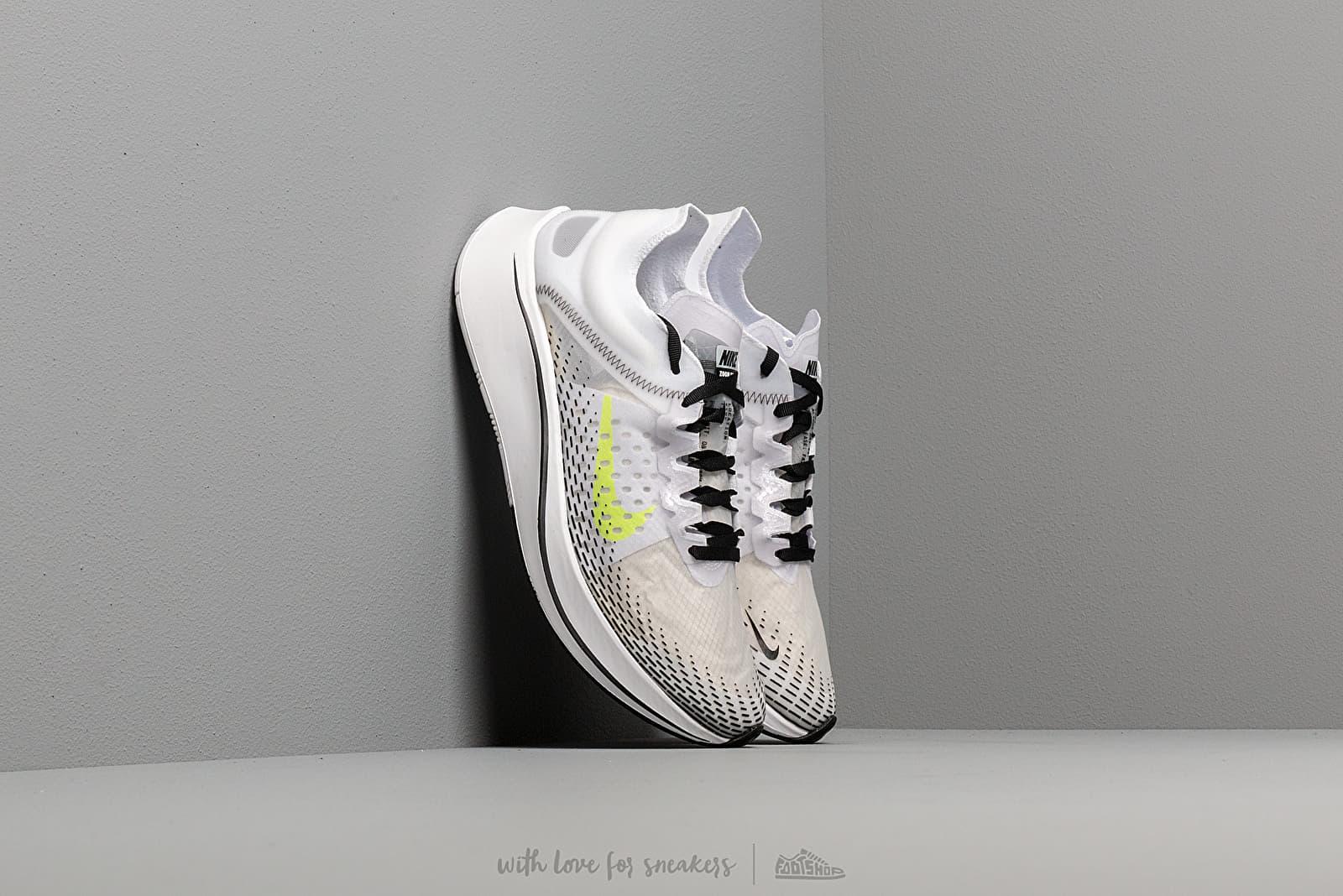 Nike Zoom Fly Sp Fast White/ Volt-Black za skvělou cenu 4 290 Kč koupíte na Footshop.cz