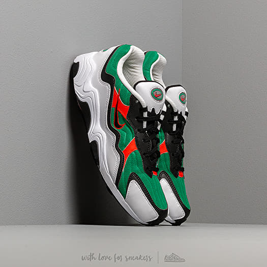 Nike Air Zoom Alpha Lucid Green Habanero Red White Black