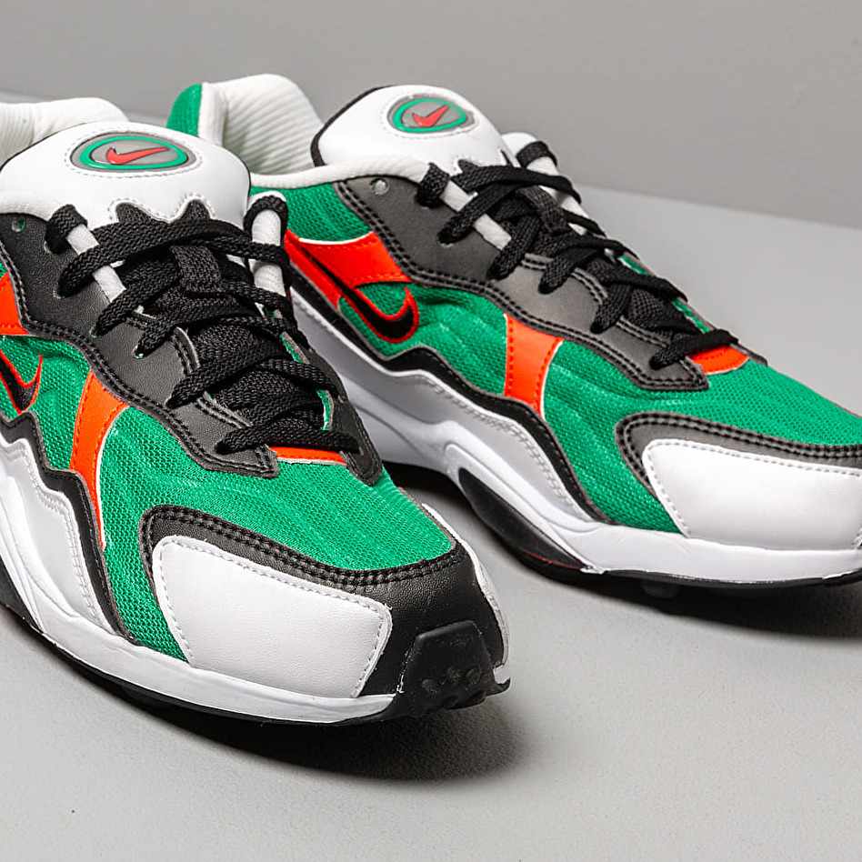 Nike Air Zoom Alpha Lucid Green/ Habanero Red-White-Black