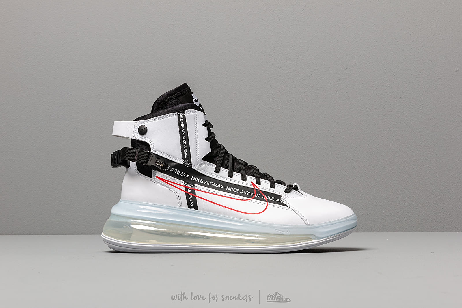 promo code 6741f a0044 Nike Air Max 720 Saturn White  Black-University Red at a great price 180