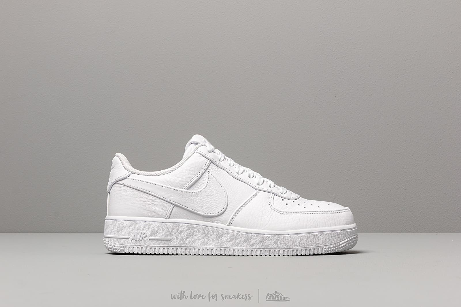 Men's shoes Nike Air Force 1 '07 Premium 2 White/ White-White ...