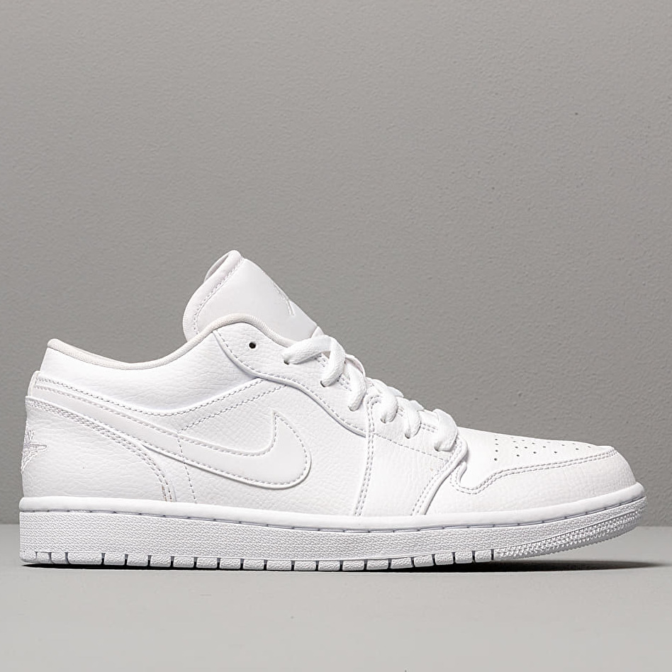 Air Jordan 1 Low White/ White-White