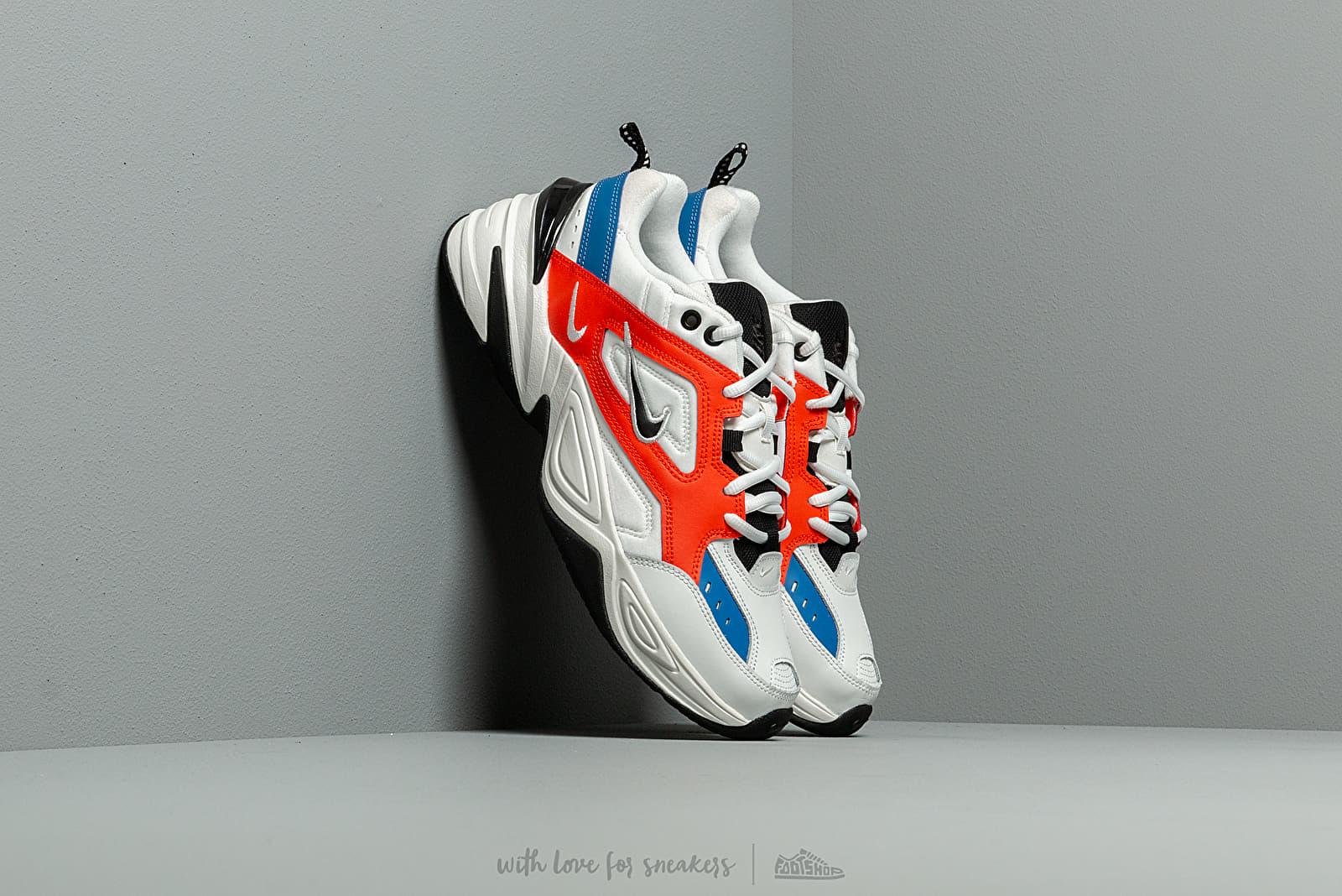 Pánské tenisky a boty Nike M2K Tekno Summit White/ Black-Team Orange