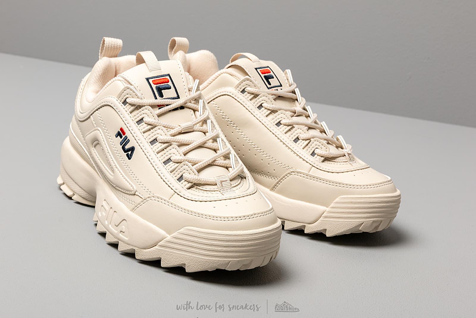 Fila Disruptor Low W Schuhe Antique White