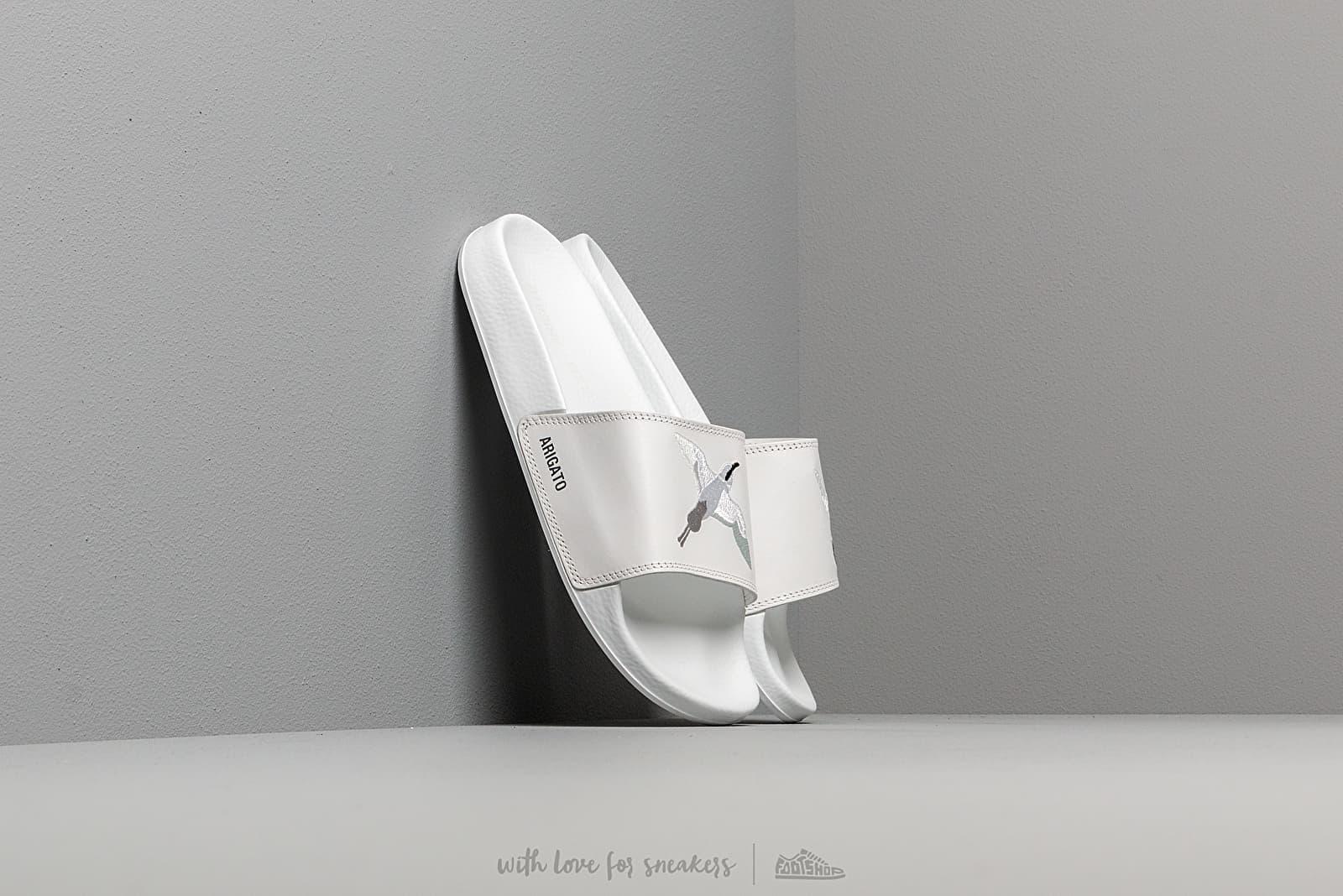 AXEL ARIGATO Tori Slides White Leather White za skvělou cenu 2 590 Kč koupíte na Footshop.cz