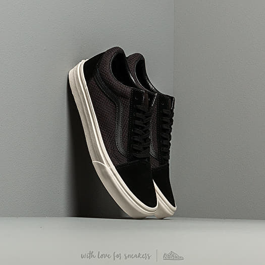 Vans Old Skool (Woven Check) Black Snow | Footshop