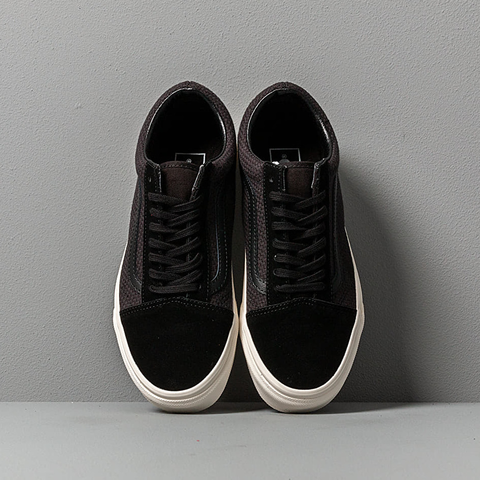Vans Old Skool (Woven Check) Black/ Snow